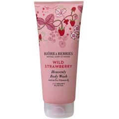 Bj�rk&Berries Wild Strawberry Heavenly Body Wash