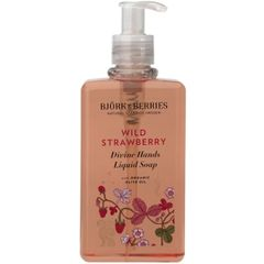 Bj�rk&Berries Wild Strawberry Divine Hands Liquid Soap