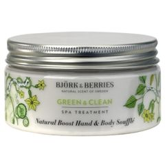 Bj�rk&Berries Green & Clean Natural Boost Hand & Body Souffl�