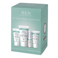 REN Starter Kit For Blemish Prone Skin