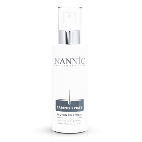 Nannic Protein Treatment Spray 150 ml i gruppen Hår / Styling & Finish / Värmeskydd hos Hudotekets Webshop (n5215)