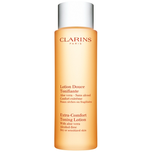 clarins extra comfort toning lotion how to use