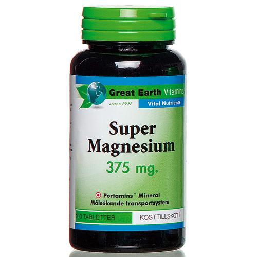 super magnesium från great earth
