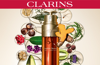 Shoppa Clarins online