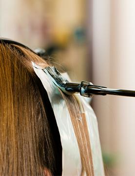 Menybild hårvård på Hudoteket Salong