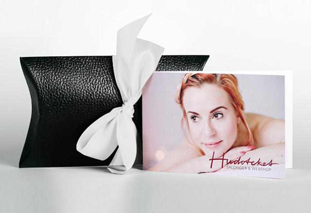 Presentkort på Hudoteket